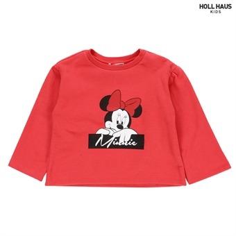 미니프린트 티셔츠IA4TSU874CORAL