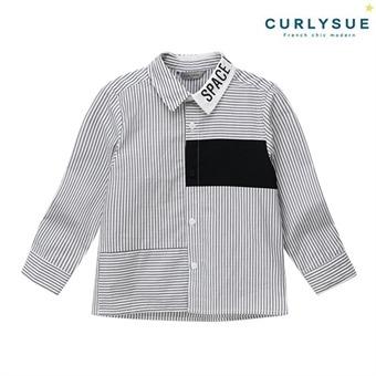 [컬리수] 모던 스트라이프셔츠  CNF1GQSH51BK [가을]