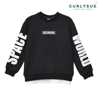 [컬리수] 스페이스월드 티셔츠 CNF1GQTS55BK [가을]