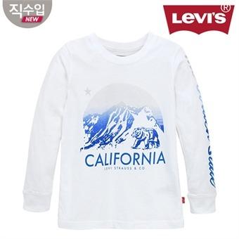 [리바이스키즈] 그래픽 티셔츠(긴팔)B VNF13QTS59 (주니어)