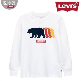 [리바이스키즈] 그래픽 티셔츠(긴팔)B VNF13QTS60 (주니어)