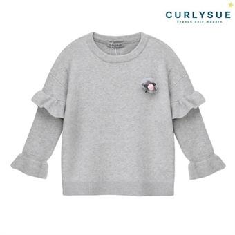 [컬리수] 러플 니트티셔츠 CNW0GATS021M [겨울]