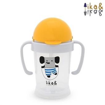 [모이몰른 리카앤] 리카& 점핑쥬스컵 (십자빨대)