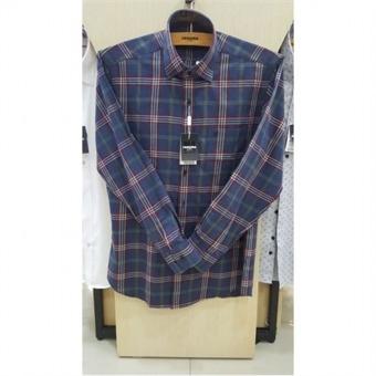 [레노마셔츠] W몰 CVC멜란체크 셔츠 RHFSG0016