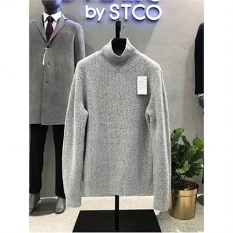 [STCO] 디엠스 W몰 오버핏 그레이 골지 터틀넥 니트 DKTOD04CSG