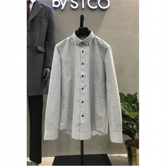 [STCO] 디엠스 W몰 논아이롱 프린트 셔츠 DDSPA37CPG