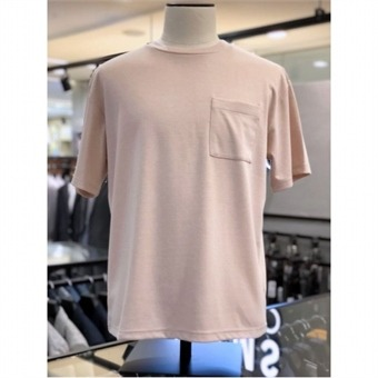 [STCO]디엠스 W몰 핑크 페일 컬러 오버사이즈 라운드 티셔츠 DTSPB13CSP