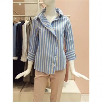[EnC] W몰넥 라인선 벌룬 셔츠 ENBA92352O