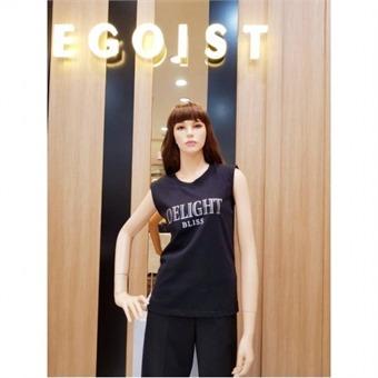 [에고이스트] W몰 어깨 패드 슬림 티셔츠 EJ3CV761