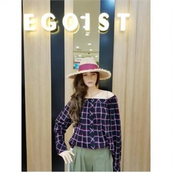 [에고이스트] W몰 엠블럼 라피아 모자 EJ2AH661