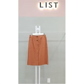 [리스트] W몰 솔리드 코튼 미디 스커트 TWWSK60020