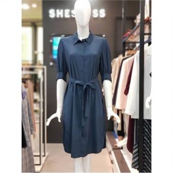 [쉬즈미스] W몰 솔리드 셔츠 원피스 SWWOPJ21050