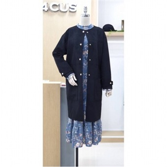 [4CUS] W몰 스웨이드 코트 FF8I2CT7002