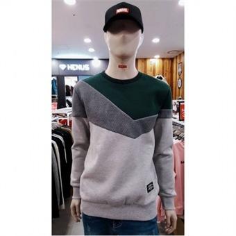 [에드윈] W몰 퀼팅원단 기모 맨투맨 티셔츠 HTC811 - W
