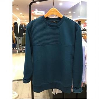 [HUM] W몰 남여공용 누빔절개 맨투맨 티셔츠 FHMFCTM704