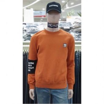 [에드윈] W몰 소매 절개 배색 기모 맨투맨 티셔츠 HTC802 - W