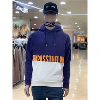 [에드윈] W몰 레터링 나염 배색 기모 후드 티셔츠 HTD803 - W