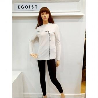 [에고이스트] W몰 절개 슬림핏 티셔츠 EJ4CL062