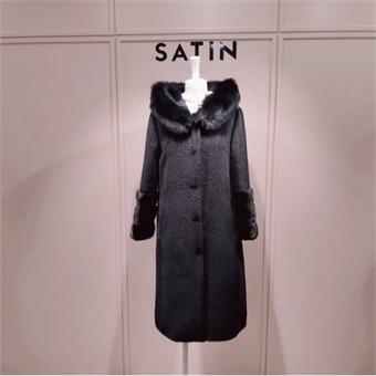 [샤틴] W몰 수리알파카 코트 S194M011