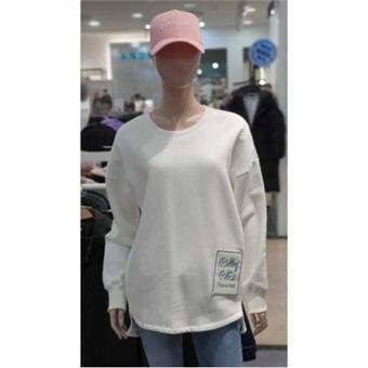 [에드윈] W몰 자수 와펜 루즈핏 기모 티셔츠 HTC850 - W