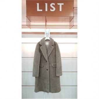 [리스트] W몰 싱글 투버튼 부클 코트 TOCTJ85090