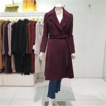 [지고트] W몰 테일러드 알파카 코트 JJCA0CT94