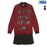 ATL HAWKS SATIN SKIRT OPS(N153TO703P)