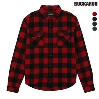 남성 체크선염기모 셔츠(B164SH010P)