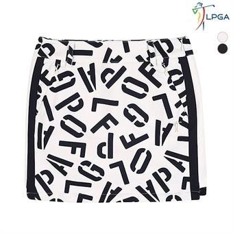 여C LPGA 변형패턴 프린트 큐롯 (L174CU513P)