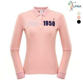 G)앞가슴 LPGA 아플리케 요꼬 티셔츠(L164TS601P)