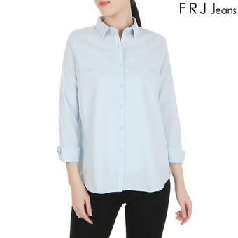 여성 가슴후라시기본셔츠 (F61F-SH511B)