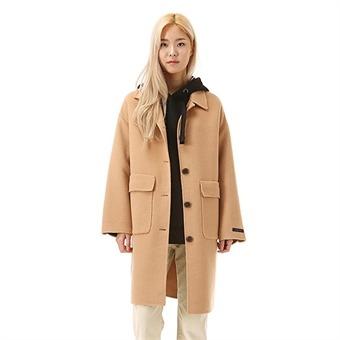 여성 핸드메이드 아웃 포켓 코트 (O184CT510P)