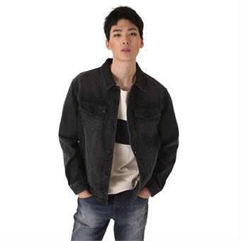 [정상기획] 유니 데님자켓 D/BK톤(B183DJ100P)