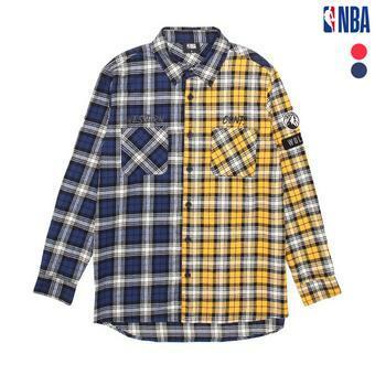남성 미네소타 팀버울브스 컬러배색 셔츠 (N183SH301P)