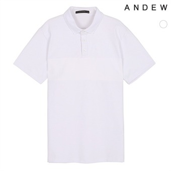 남성 절개 카라 티셔츠(O182TS310P)
