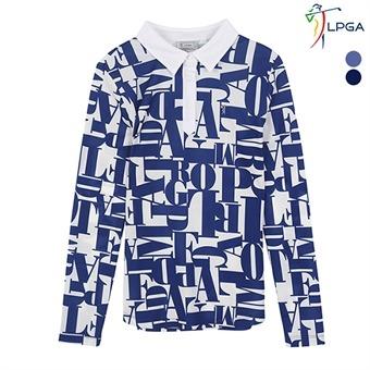 여G 레터링 패턴 제에리 티셔츠(L181TS651P)