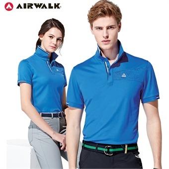에어워크 반팔 카라 티셔츠 8015 8016 블루