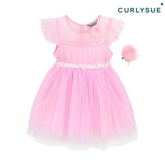 [컬리수] 핑크 리즈원피스(머리핀세트) COM0GAOP02 [여름]
