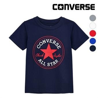 [컨버스키즈] 척패치 티셔츠(반팔)B EOM13QTS00 (주니어)