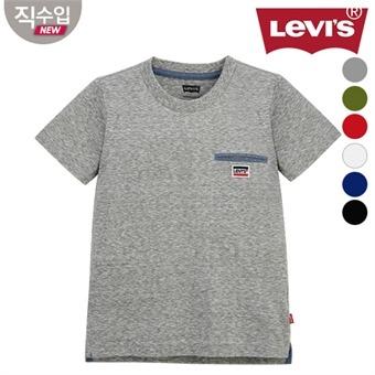 [리바이스키즈] 워너포켓 티셔츠B VOM13QTS16 (주니어)