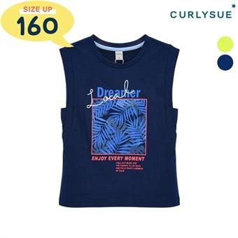 [컬리수] 럭키민소매 티셔츠 COM3XQTS51 [여름]