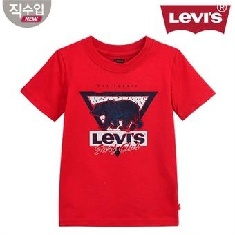 [리바이스키즈] 서프 클럽 티셔츠B VOM13QTS98 (주니어)