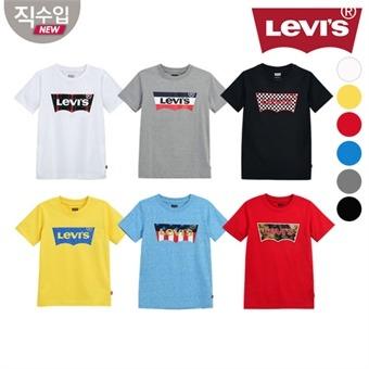 [리바이스키즈] 패턴베트윙 티셔츠L VOM11QTS55 (키즈)