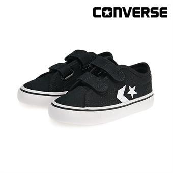 [컨버스키즈] CONVERSE STAR REPLAY 2V OX BLACK/WHITE 763562C (베이비)