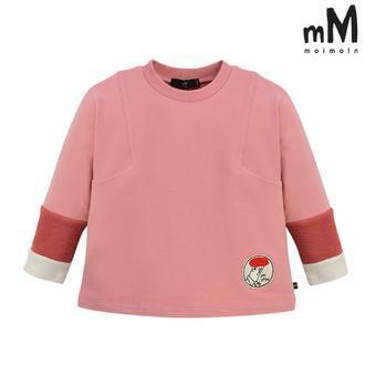 [모이몰른] 소프트배색 티셔츠 MOF1GATS21 [가을]