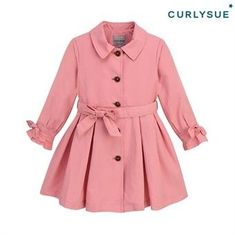 [컬리수] 핑크빛 트렌치코트 COF1GABY01 [가을]