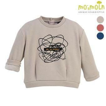 [모이몰른] 클립드로잉 밍크티셔츠 MOW2FZTS05 [겨울]