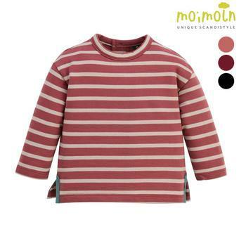 [모이몰른] 클립스트라이프 티셔츠 MOW0FZTS08 [겨울]