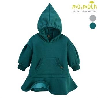 [모이몰른] 클립밍크 후드원피스(털안감) MOW2FAOP25 [겨울]