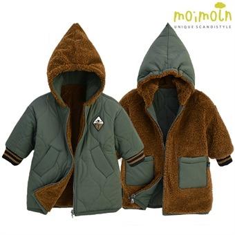 [모이몰른] 메이슨 리버시블패딩점퍼 MOW2BQPM04 [겨울]